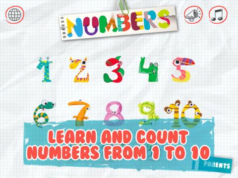Minti Kids Basic Numbers
