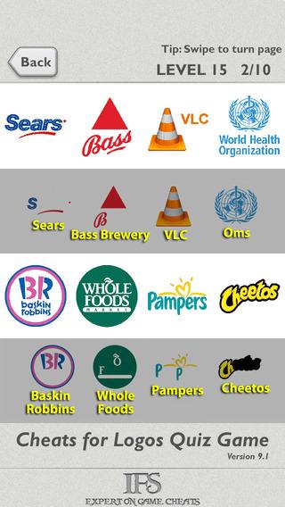 Cheats for Logos Quiz