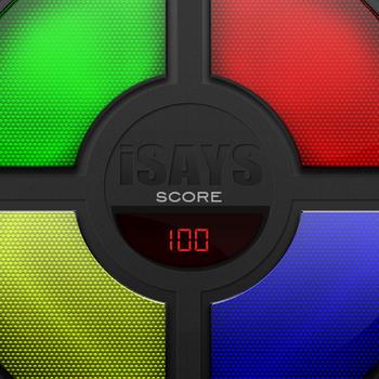 iSays - Simon Says Classic Memory Game LOGO-APP點子