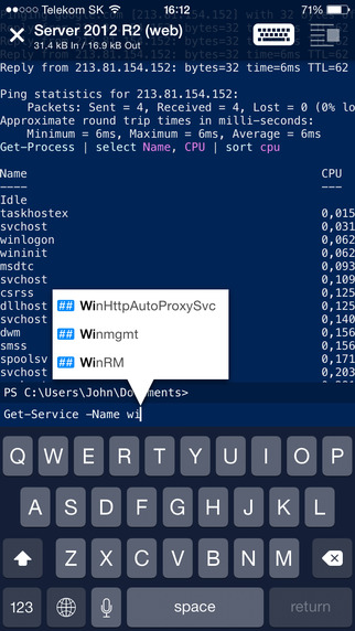 WinRM - Windows remote management in your pocket