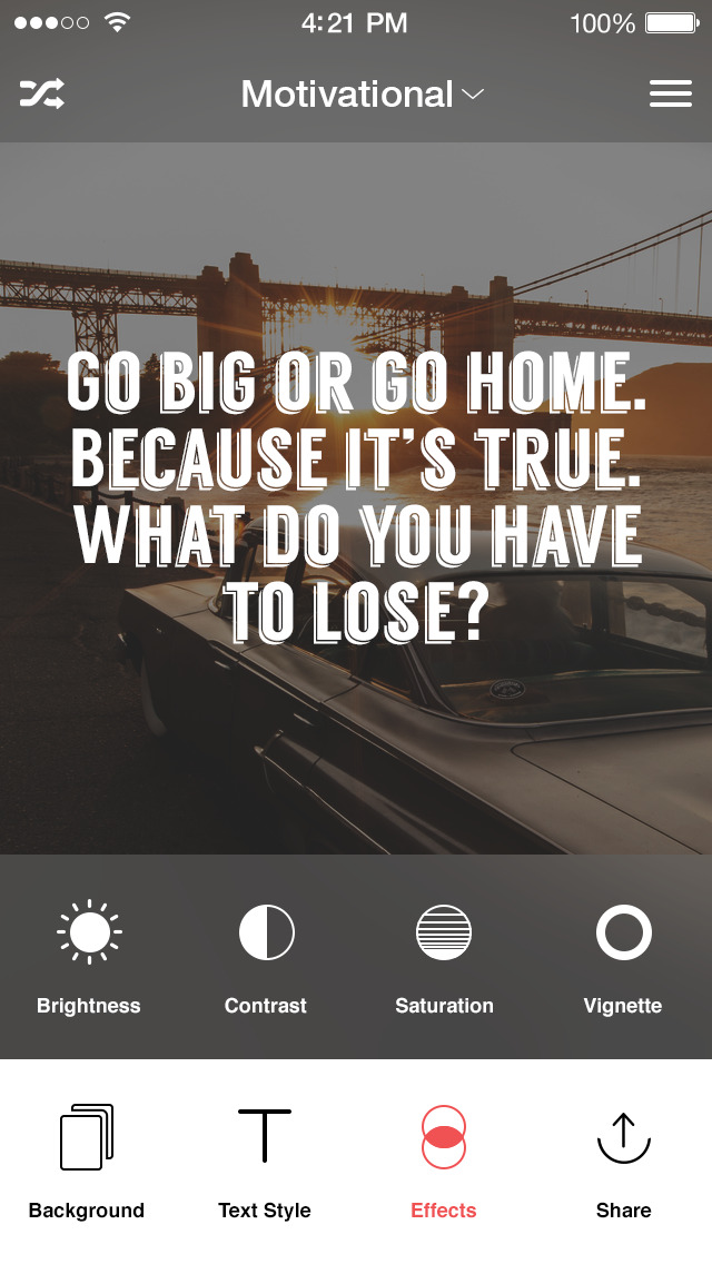 Kwote A Quote Maker For Inspirational And Free Mac Software Interesting Picture Quote Maker