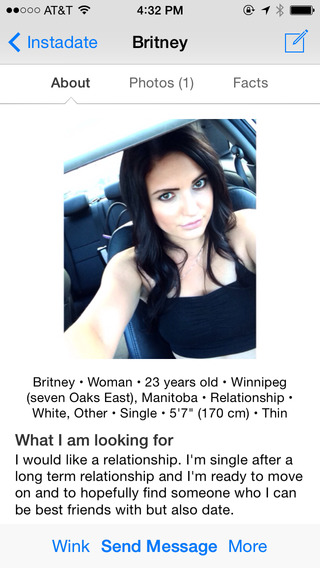 Instadate Free Camera Messenger for Online Dating