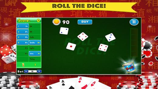 Yatzy Addict FREE - All Vegas Craps-style Casino Game