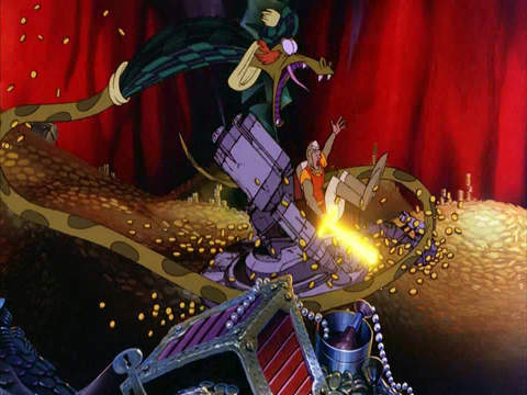 Dragon's Lair 2: Time Warp HD screenshot 2