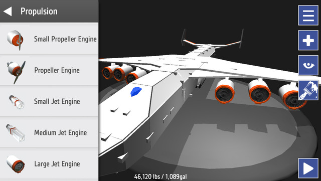 SimplePlanes - Build any aircraft you imagine. Can it fly? (via @148apps)