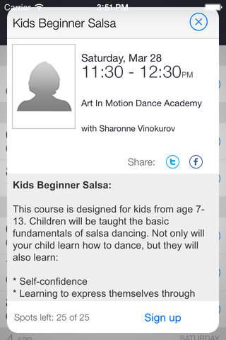 Art In Motion Dance Academy screenshot 2