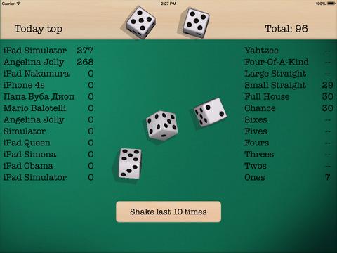 Dice 5 iPad Screenshot 2
