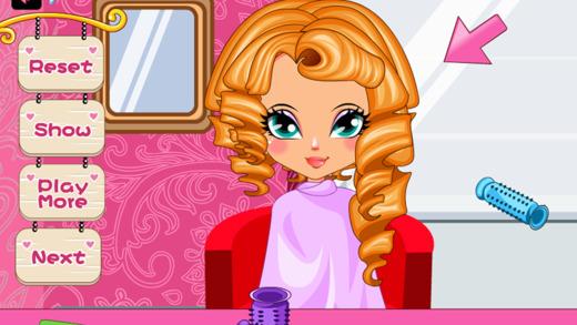 Beauty Hair Salon Game