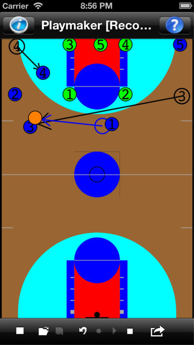 Basketball Playmaker iPhone Screenshot 2