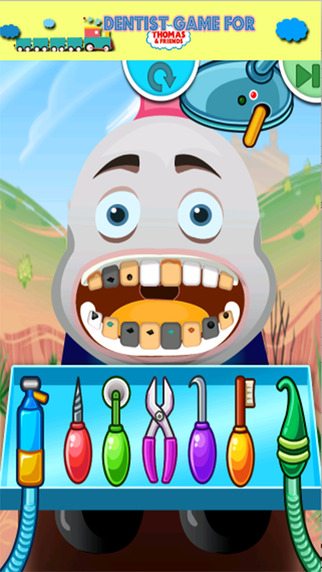 Game For Kids Thomas and Friends Dentist Version
