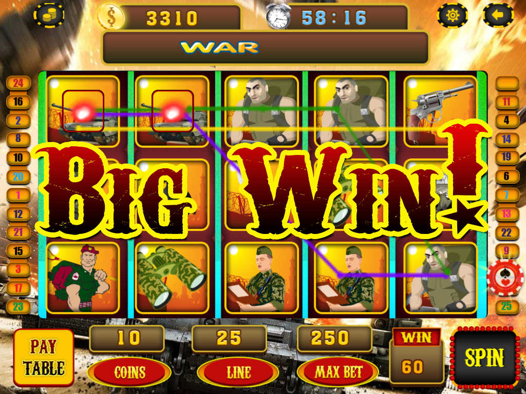 Heros War Slot Machine - Play Free Casino Slots Online