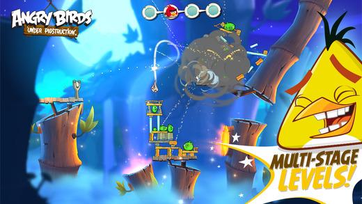 Angry Birds Under Pigstruction iOS