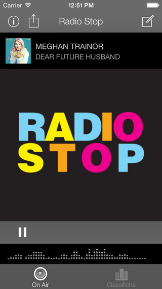 Radio Stop - the Pop radio iPhone Screenshot 4