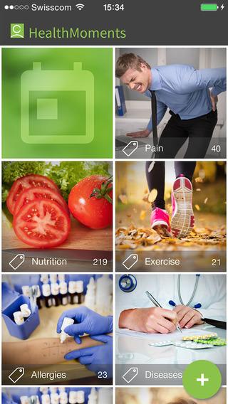 HealthMoments - A Health Diary
