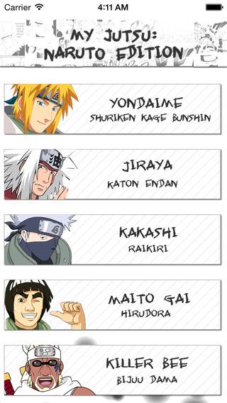 My Jutsu - Naruto Edition