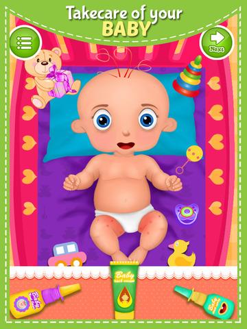 玩免費遊戲APP|下載Newborn Baby Care Routine app不用錢|硬是要APP