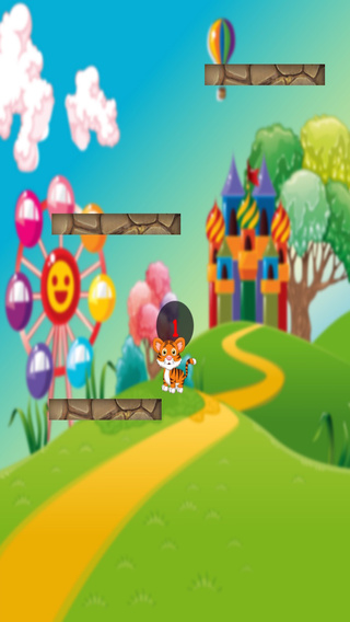 Tiger Jump - A Cute Jumping Up Game for Kids PAID