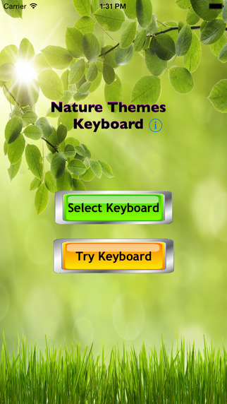 Nature Themes Keyboards Pack FREE