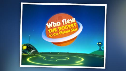 Who Flew The Rocket: Children's Nursery Rhyme