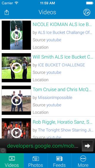 Ice Bucket Challenges for ALS