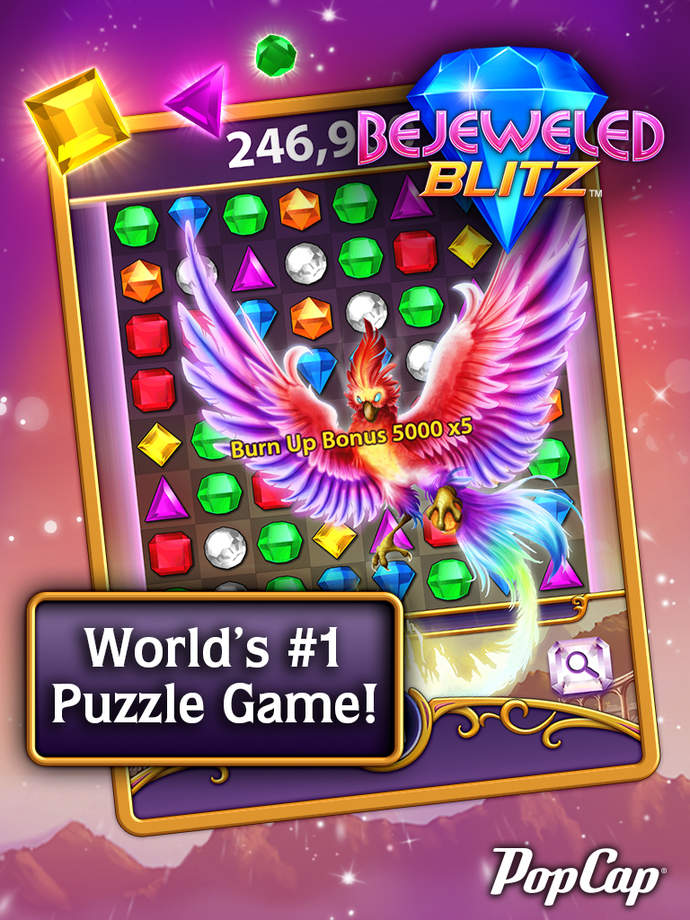 Bejeweled Blitz - iPhone Mobile Analytics and App Store Data