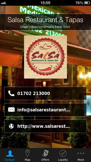 Salsa Restaurant Tapas