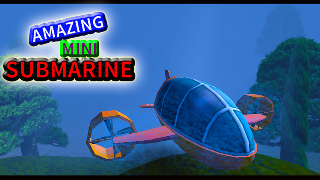 Amazing Mini Submarine