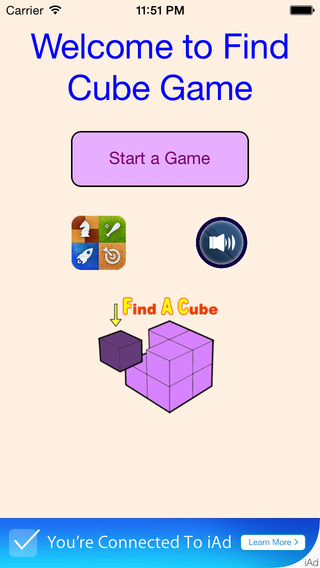 Find A Cube