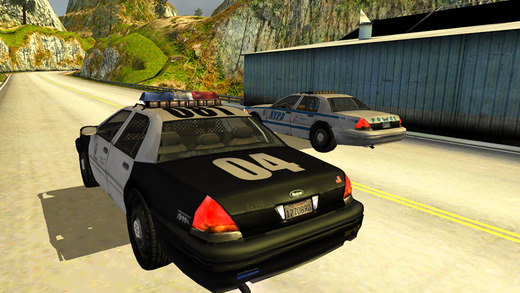 3D Turbo Police Chase Free