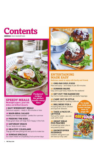BBC Easy Cook magazine – great value quick and easy recipes for everyday and entertaining