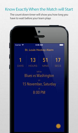 St. Louis Hockey Alarm Pro