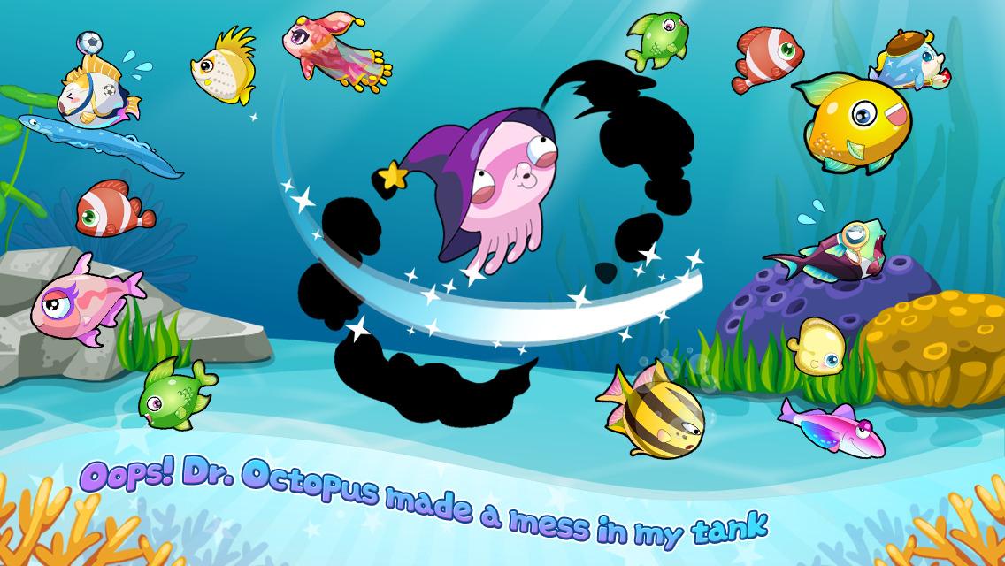 App shopper happy fish dream aquarium games for Fish for money app