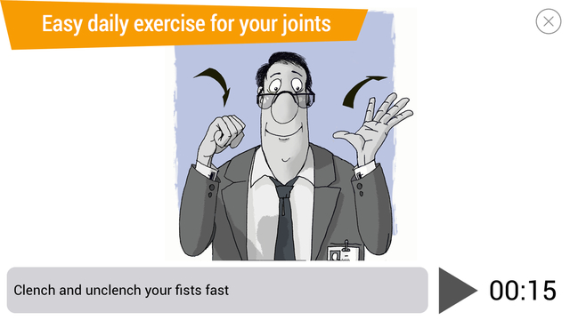 Office Ninja: exercises for joints