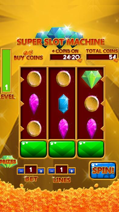 Ultra Super Slots Machine. Feel the magic of Las Vegas on your smartphone. iPhone Screenshot 5