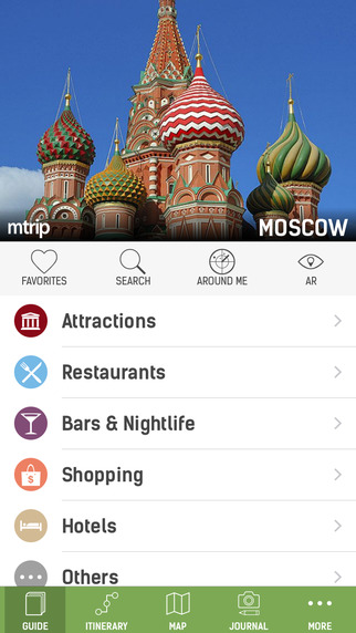 Moscow Travel Guide with Offline Maps - mTrip