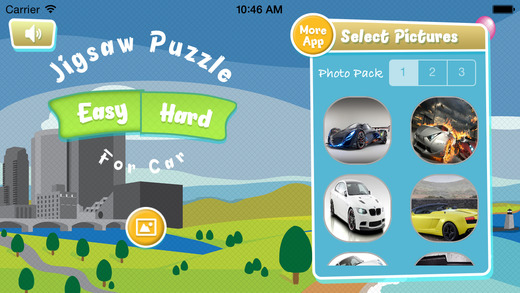 Jigsaw Puzzle For Car