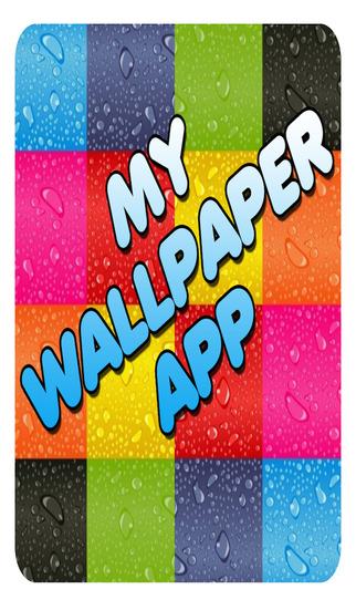 My Wallpaper App; Backgrounds Shelves and Frames