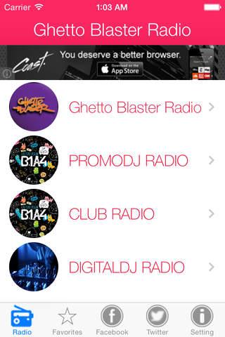 Ghetto Blaster Radio. screenshot 1