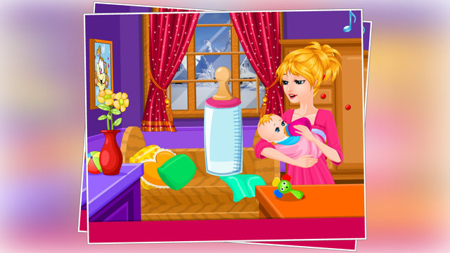 Lovely Baby Feeding