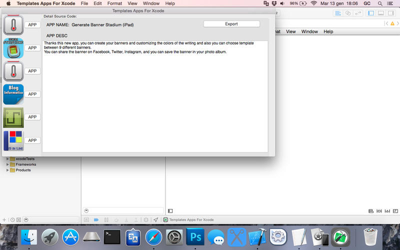 Templates Apps For Xcode for Mac