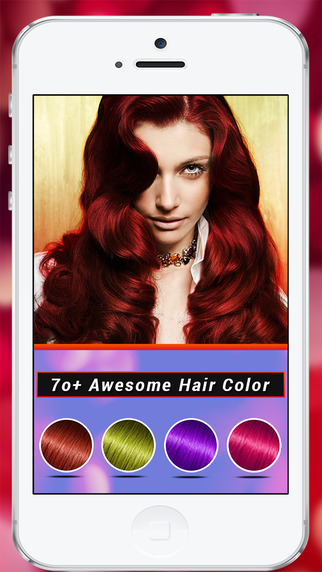 Hair Color Changer - Makeup Tool Change Hair Color