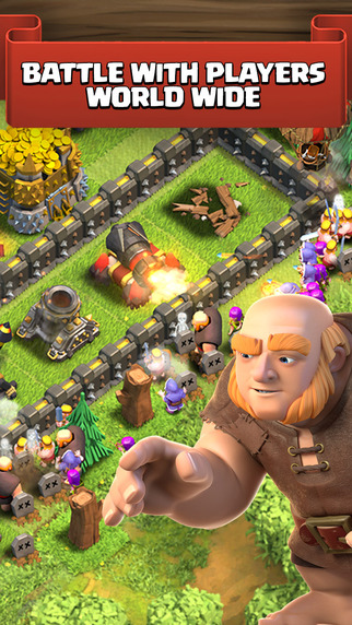 Clash of Clans, Coc, клэш оф клэнс
