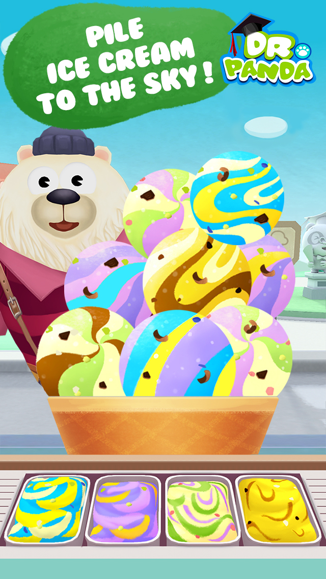 Image of Dr. Panda's Ice Cream Truck for iPhone