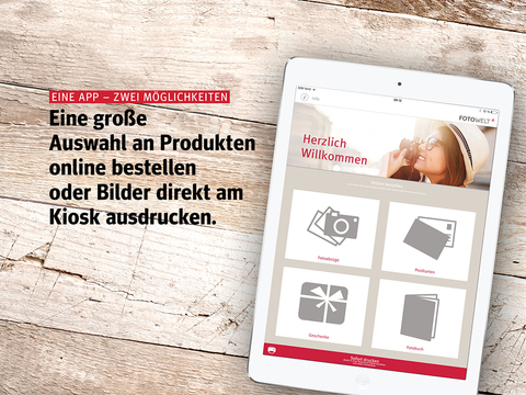 ipad Rossmann Fotowelt Screenshot 0