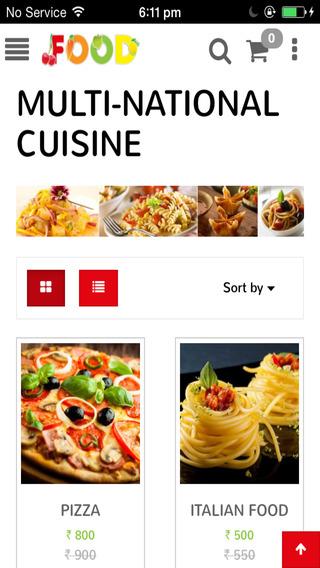 Storehippo Food Theme