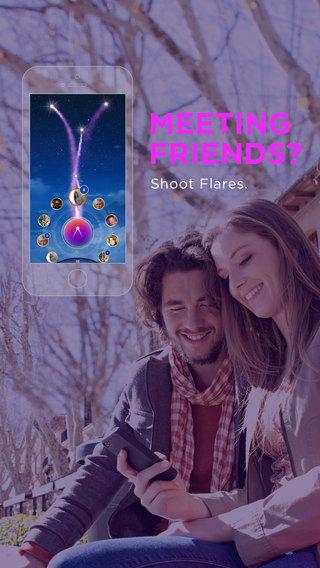 【免費社交App】Flares - Mobile Signals-APP點子