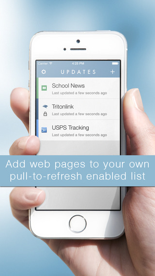 Updates – Keep Tabs on Any Web Page