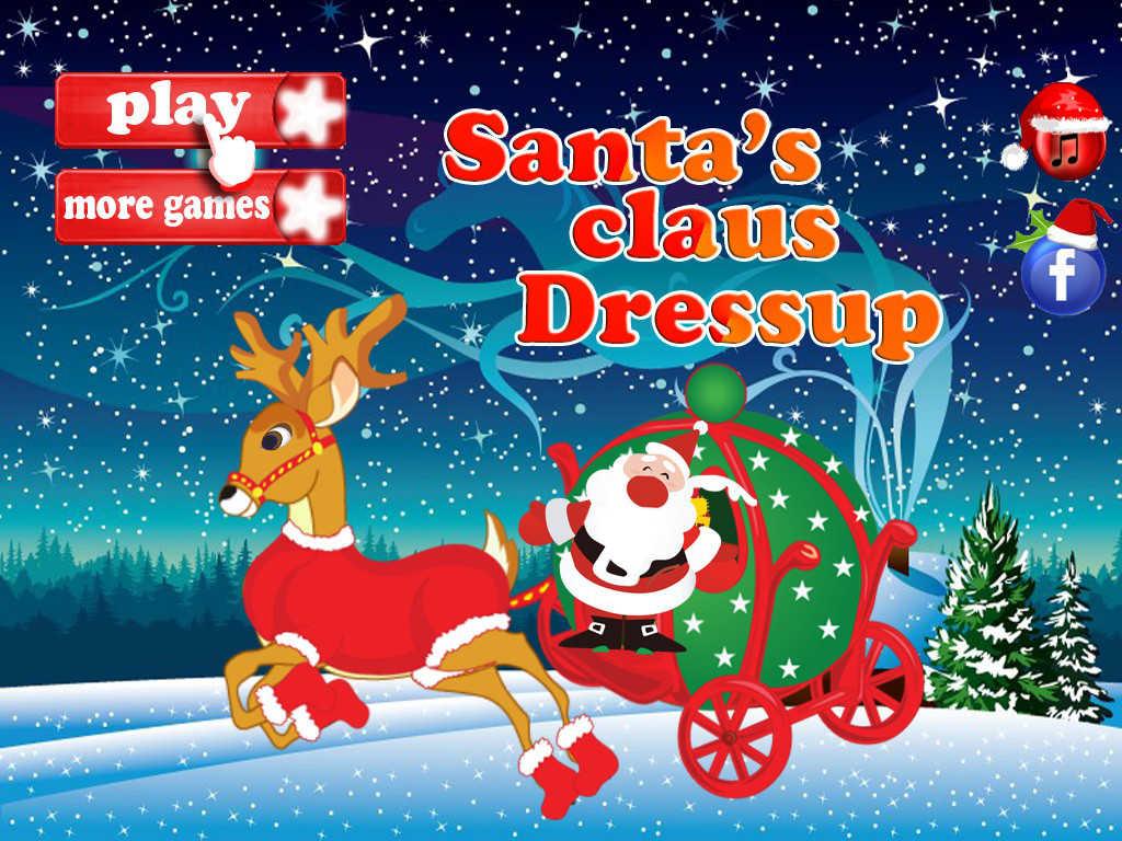App shopper santa s claus dress up games