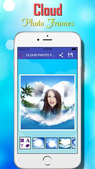 Cloud Photo Frames