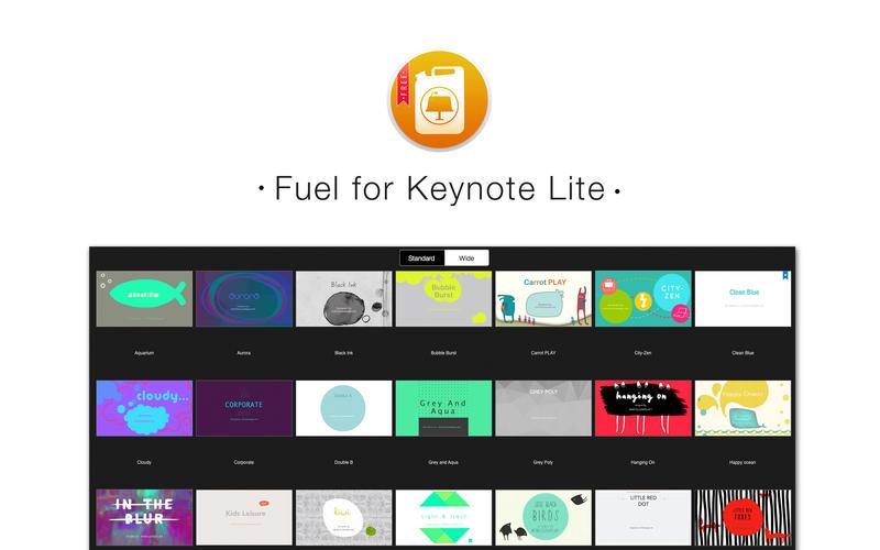 Fuel for Keynote Lite Screenshot - 1